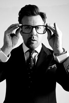 Jason Sudeikis – Black Book Photoshoot