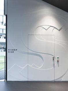 adidas laces signage system and interior design #interior #adidas #laces #design #system #signage