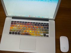 Nebula Keyboard Decals for MacBook #tech #gadget #ideas #gift #cool