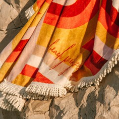Beach Towel | Round Beach Towel - La Plage