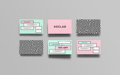 "Anagrama  |   http://anagrama.com""Xoclad is a high end pastry and confectionery shop located in the Mayan Riviera. In a place bustling #business #branding #design #graphic #cards"