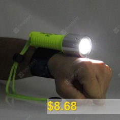 CREE #XML #T6 #Underwater #Shoot #LED #Camping #Flashlight #- #YELLOW