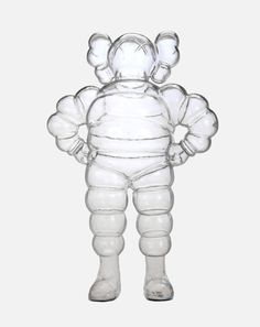 Paddle8: Clear Chum - KAWS #clear #transparent #kaws #chum #toy