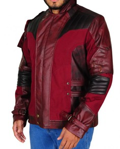 Star Lord Cosplay Leather Jacket (7)