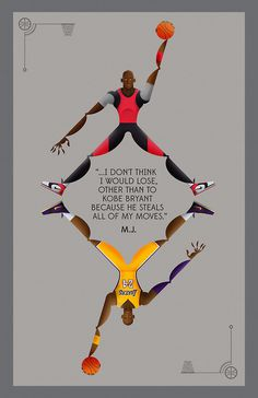 Poster tribute to MJ. #jordan #illustration #kobe