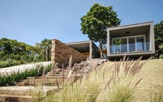 Contemporary Architecture Diluted in a Bucolic Landscape: ME House #architecture #house #contemporary