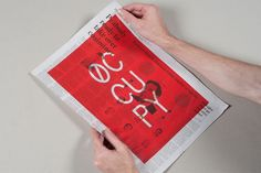 Occupied Mono Typeface : Luke Robertson #logo