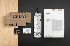 Baldoria – Garrafeira x Bar on Behance #brand