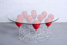 Up Balloon Coffee Table Round by Duffy London - HomeWorldDesign (3) (Custom) #coffee #design #table