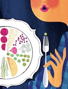 Sanna Mander #illustration #food