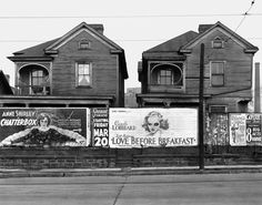 walker evans house and billboards in atlanta