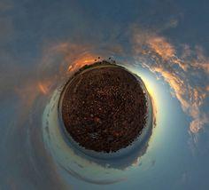 josh sommers: equirectangular panoramas #josh #stereographic #sommers #photography #sunset