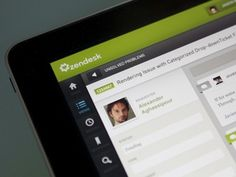 Dribbble - Zendesk for iPad by Jason Wu #ipad #ios