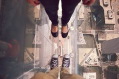 yay!everyday - psql: Bailey & I looked down at Chicago from the... #chicago #tower #willis #the