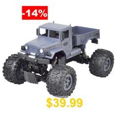 ZG #- #C1231W #1/12 #Waterproof #RC #Car #Crawler #Desert #Truck #RTR #- #NAVY #BLUE