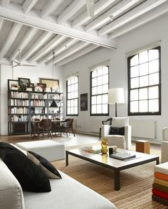 "CJWHO â""¢ (New York Style Loft in Downtown Barcelona by Shoot...) #loft #spain #design #interiors #luxury #renovation"
