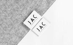 JAC Business Cards #businesscards #branding #identity #logo #minimal #stylist #print