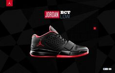 design work life » Academy: Jordan Brand Interactive Interview #design #web