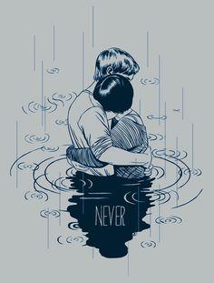 NEVER by Stasia Burrington