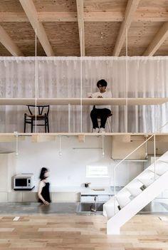 Roof and Rectangular by Jun Igarashi Architects