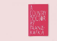 A Country Doctor on Typography Served #cover #book