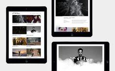 Martin Silvestre Control #logo #identity #grid #layout #ipad #app #website