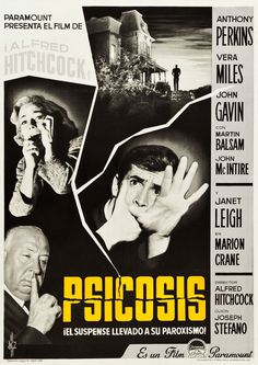 Psycho (1960) #film #poster #vintage #layout #cinema