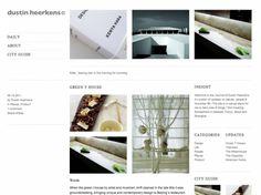 Dustin Heerkens   Minimal Sites #clean #simple #minimal #zen #web