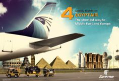 miscellaneous Ads on Behance #egyptair