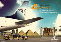 miscellaneous Ads on Behance #egyptair