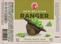 New Belgium Ranger IPA label #packaging #beer