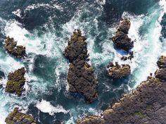 Iceland from above - Kevin Krautgartner #iceland #waves