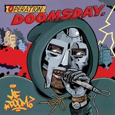DOOM: OPERATION DOOMSDAY, COMPLETE MP3 RELEASE | Stones Throw Records #album #doom #artwork #hiphop #doomsday