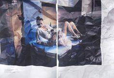 photorealistic fashion spread paintings 4