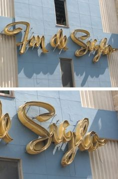 Type and Lettering: Fin de Siglo #sign #lettering #havana #typography