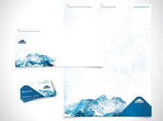 Graphic-ExchanGE - a selection of graphic projects #letterheads #stationery