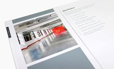 Corporate Brochure Design #print #layout