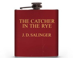 Vintage Catcher in the Rye inspired - 6oz or 8oz Hip Flask