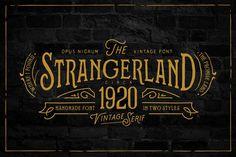 Strangerland Font