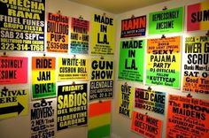 RIDE JAH BIKE REPRESENTING AT COLBY POSTER PRINTING CO. 'MADE IN L.A' EXHIBITION – KK OUTLET LONDON #print #screen #printing #vintage #poster