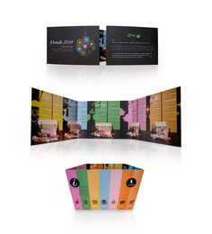 Brochrue #beverage #invitation #food #christmas #ideas #envelope #drinks #communication #italy #brochure #coordinated