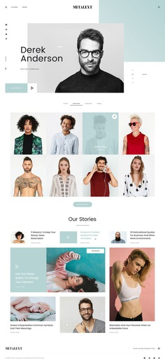 MI Talent - Free Website Template for Agencies