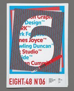 Eight:48 No.6. #print #design #newspaper #eight #48 #magazine