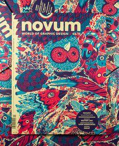 novum, magazine, cover, illustration