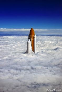 Magical Worlds Exist Just Above the Clouds My Modern Metropolis #nasa #shuttle #space