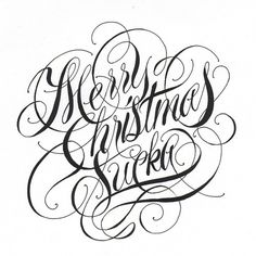 Typeverything.com - Merry Christmas Sucka by... - Typeverything #typography