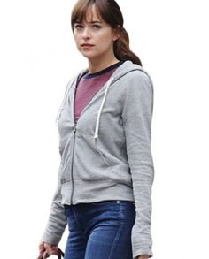 Fifty Shades Anastasia Steele Hoodie | Top Celebs Jackets