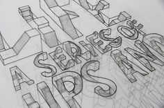 3D Typography by Lex Wilson 6r #illustration #typography