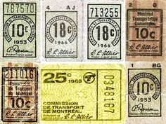 All sizes | Montreal Transit Ticket Assorted Collection | Flickr - Photo Sharing!