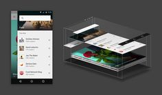 An exploration in Material Design by feedly — Medium #feely #design #material #ui #app